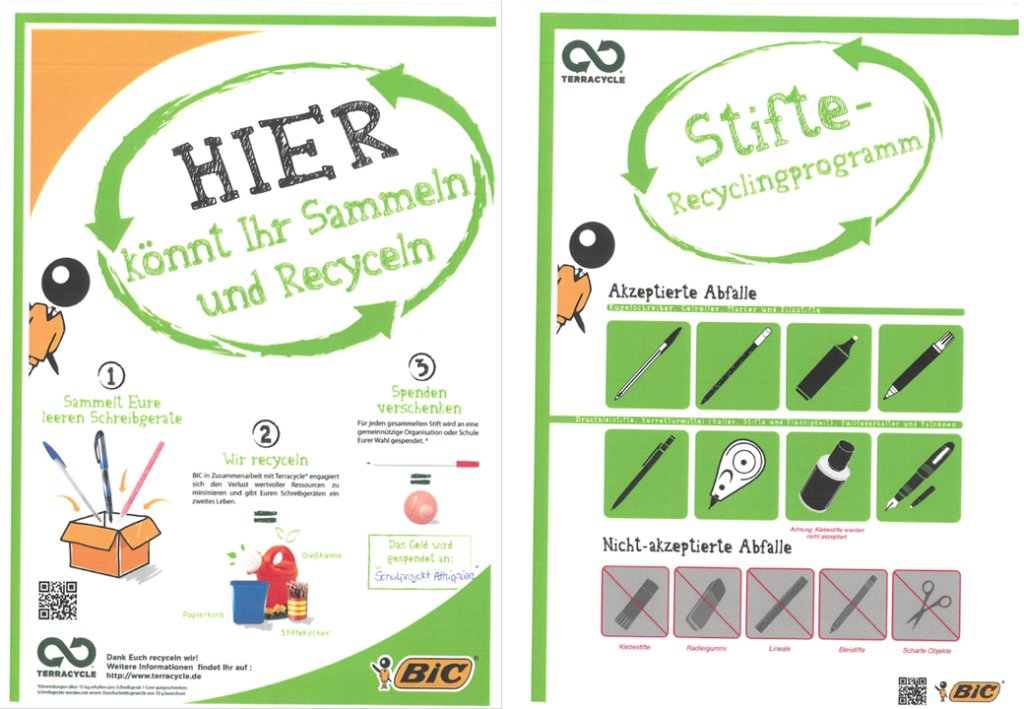 Stift Recycling